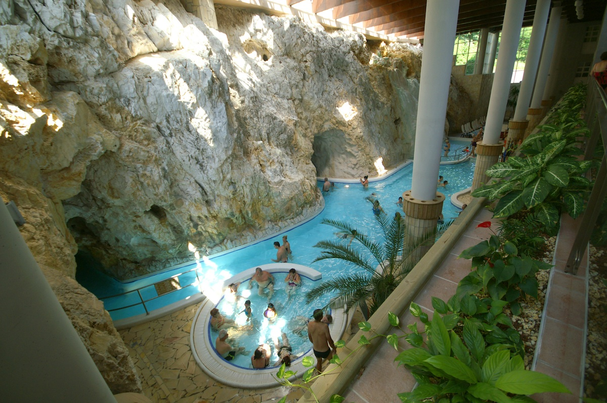 One Of Four Indoor Pools